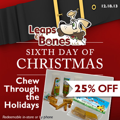6th Days of Christmas 25%OFF Himalayans and Yeti Chews