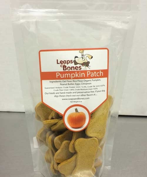 Leaps & Bones Pumpkin Patch Dog Biscuits 6oz