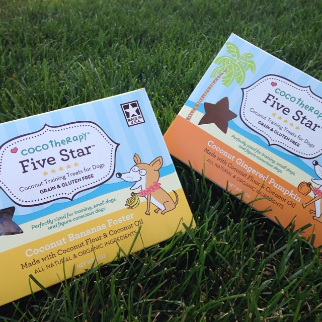 NEW! Coco Therapy Five Star Training Treats