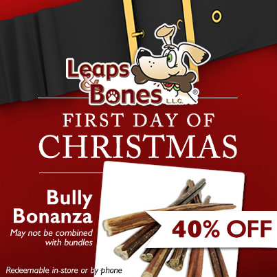Bully Bonanza- Save 40% OFF Bully Sticks!
